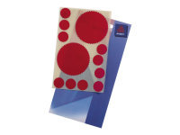 Avery Seal Red Labels - Pack of 10
