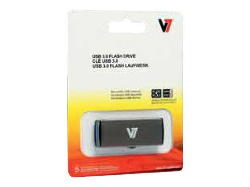 V7 USB Stick 32GB USB 3.0 Grey - Slide Connector VU332GDR GRY 2E
