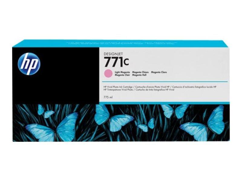 HP 711C Light Magenta OriginalInk Cartridge - Standard Yield 775ml- B6Y11A