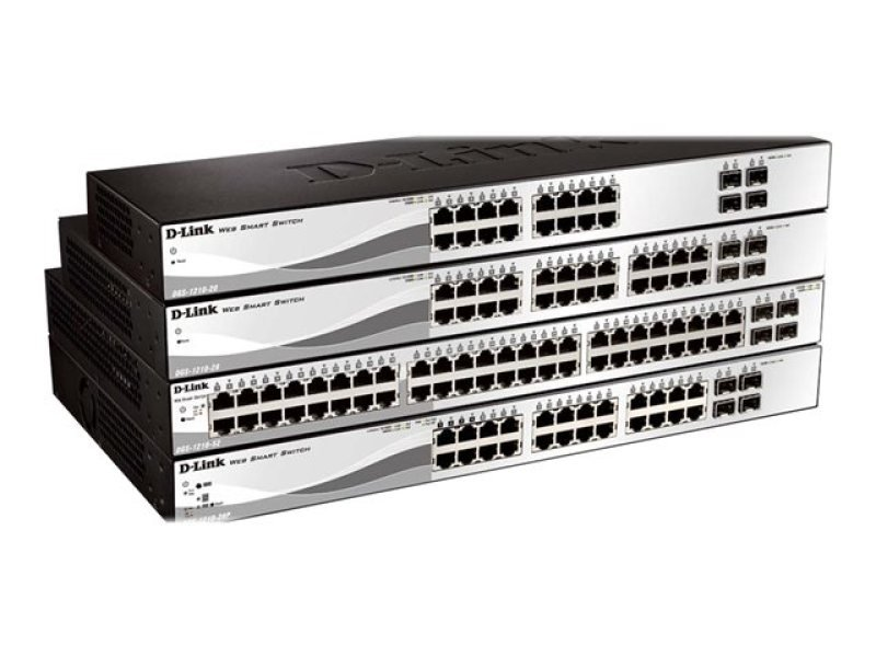 D-Link DGS-1210-20 20-Port Gigabit Smart Switch (fanless)