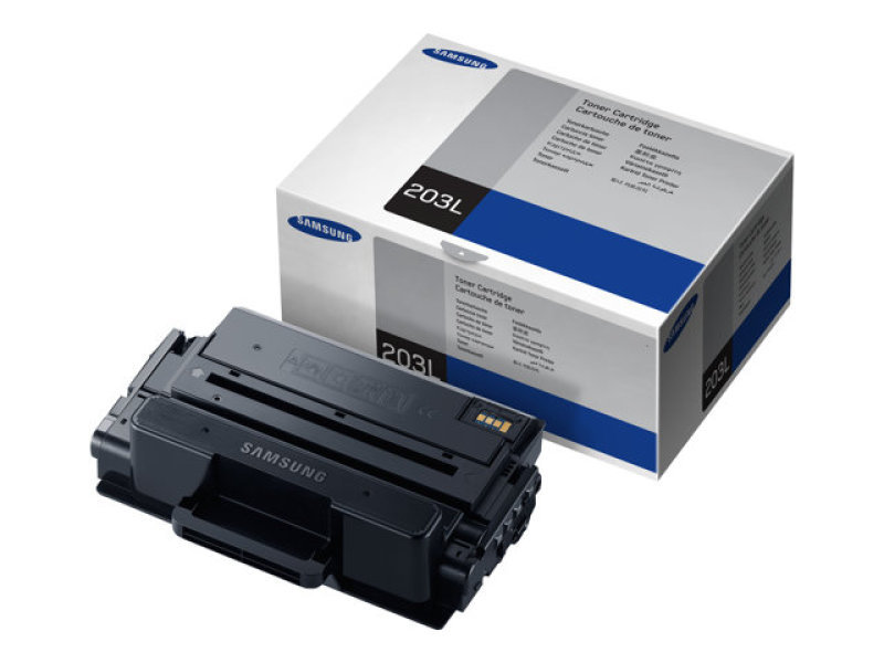 Samsung MLTD203L Black Toner Cartridge  5000 Pages