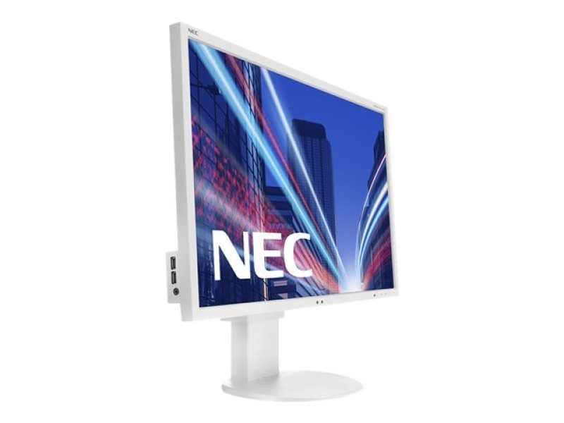 "NEC EA244WMI 24"" IPS LED HDMI Monitor White"