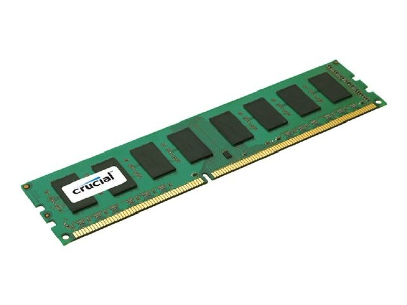 Crucial CT25664BA160B 2GB DDR3 PC3-12800 Unbuffered NON-ECC 1.5V 256Meg x 64