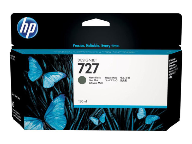 HP 727 Matte Black Designjet Ink Cartridge - B3P22A