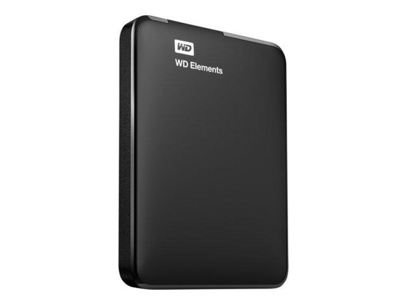 WD Elements 1TB USB 3.0 Portable External Hard Drive Black ...