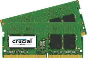 Crucial 16GB Kit (8GBx2) DDR4 2133 MT/s (PC4-17000) CL15 DR x8 Unbuffered SODIMM 260pin
