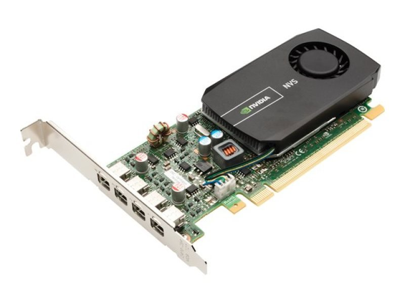 PNY NVS 510 2GB GDDR3 4 x DisplayPort PCI-E Graphics Card