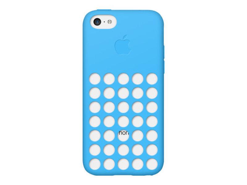 Apple iPhone 5C Silicone Case - Blue