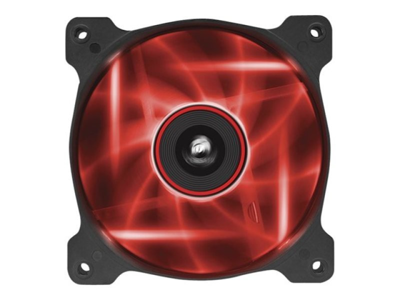 Corsair AF120 LED Red Quiet Edition High Airflow 120mm Fan