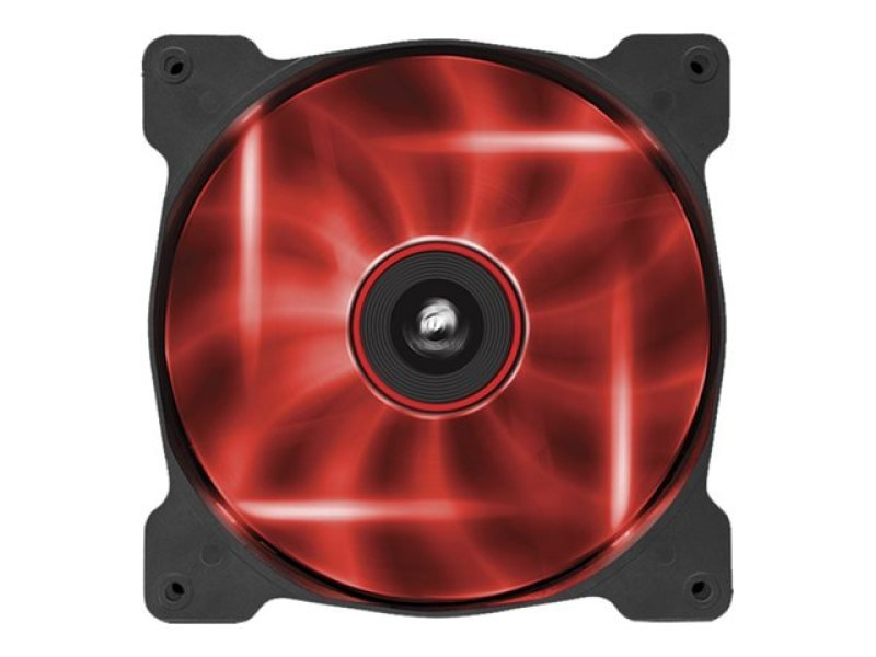 Corsair Af140 Led Red Quiet Edition High Airflow 140mm Fan