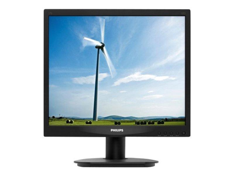 """Philips 17S4LSB/00 17"""" VGA DVI Monitor"""