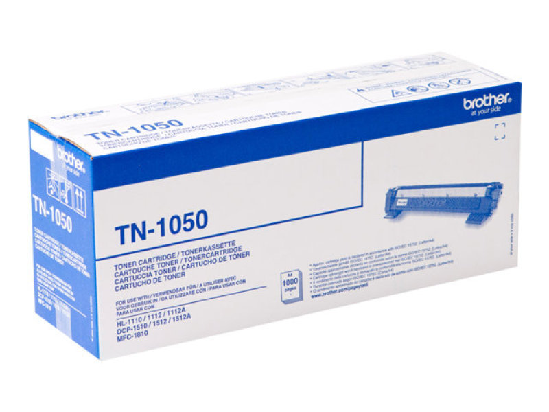 Brother TN-1050 Black Toner Cartridge - 1,000 Pages