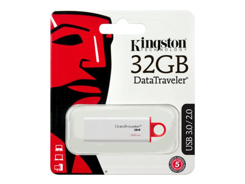Kingston 32GB USB 3.0 DataTraveler I G4 Flash Drive