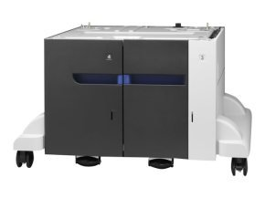 HP Color Laserjet 3 x500 Sheet High Capacity Input Feeder and Stand