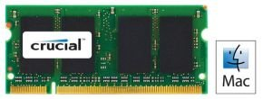 Crucial 2GB DDR2 667MHz Laptop Memory for Mac