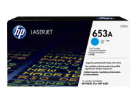 HP 653A Cyan LaserJet Cartridge - CF321A