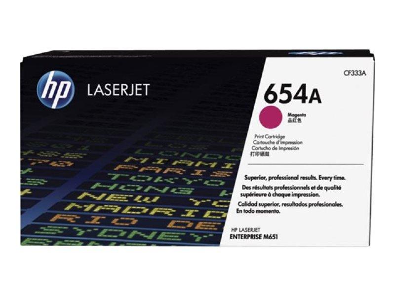 HP 654A Magenta LaserJet Cartridge