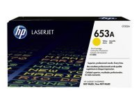 HP 653A Yellow LaserJet Cartridge - CF322A