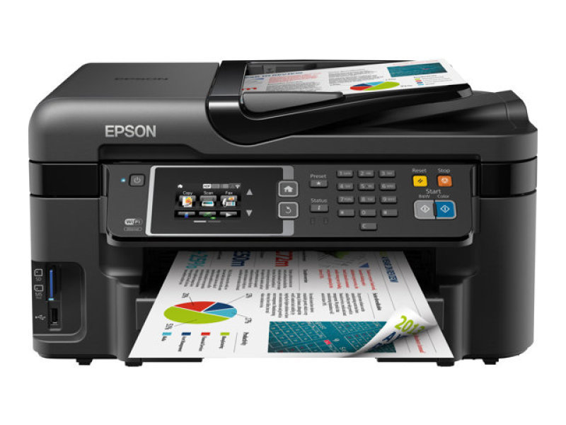 Epson WorkForce WF-3620DWF Colour A4 All-in-one Printer