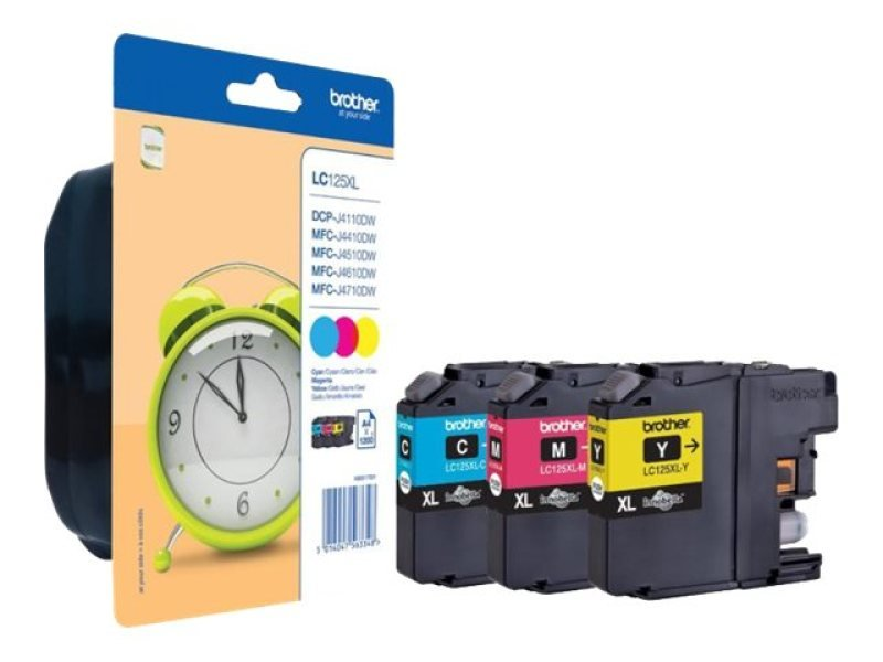 Brother Lc125xl Colour Ink Cartridge