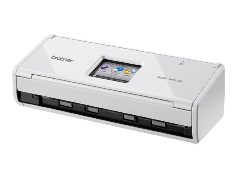 Brother ADS-1600W Compact Wireless Document Scanner