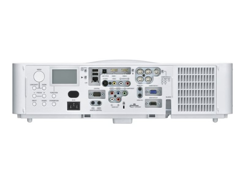 Hitachi CP-WU8460 6000 Lumens, WUXGA Resolution, 3LCD Technology, Install Projector