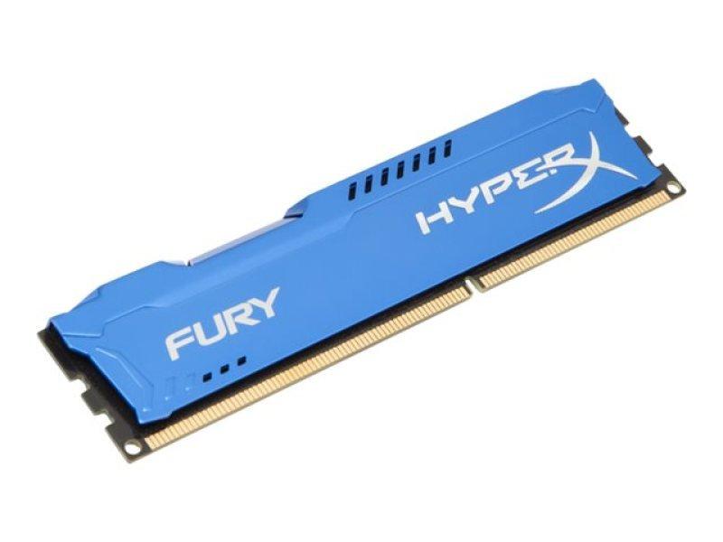 HyperX Fury Series 8GB 1600MHz DDR3 CL10 DIMM Memory