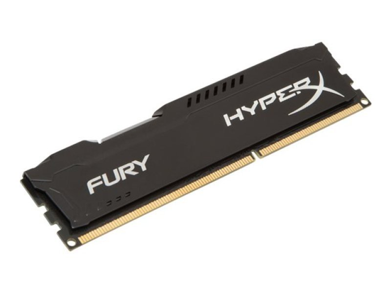 HyperX Fury Black 8GB 1866MHz DDR3 CL10 DIMM Memory