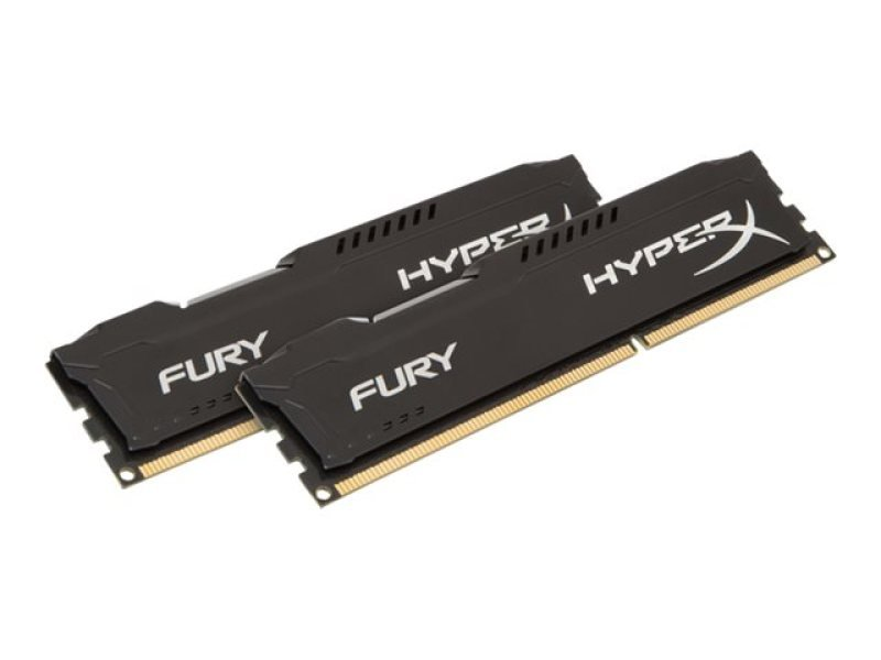 HyperX Fury Black 8GB 1866MHz DDR3 CL10 DIMM (Kit of 2) Memory