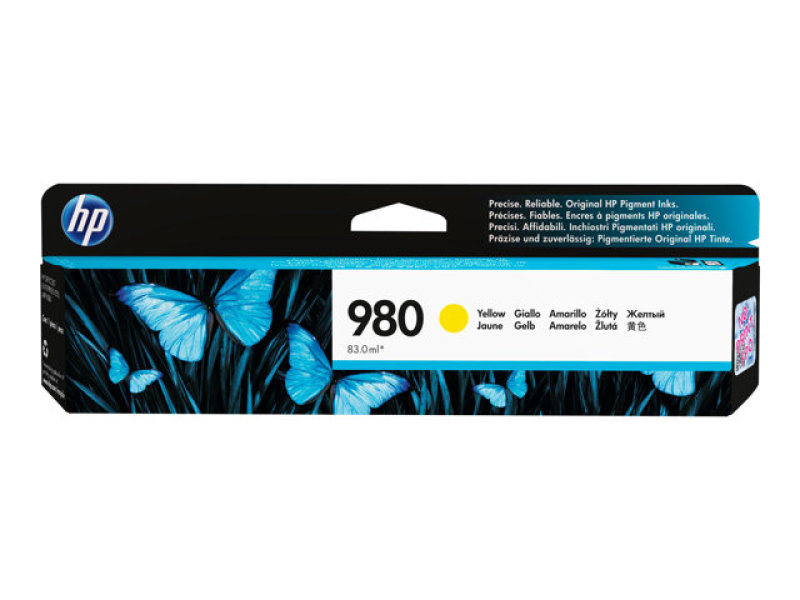 HP 980 Yellow Ink Cartridge