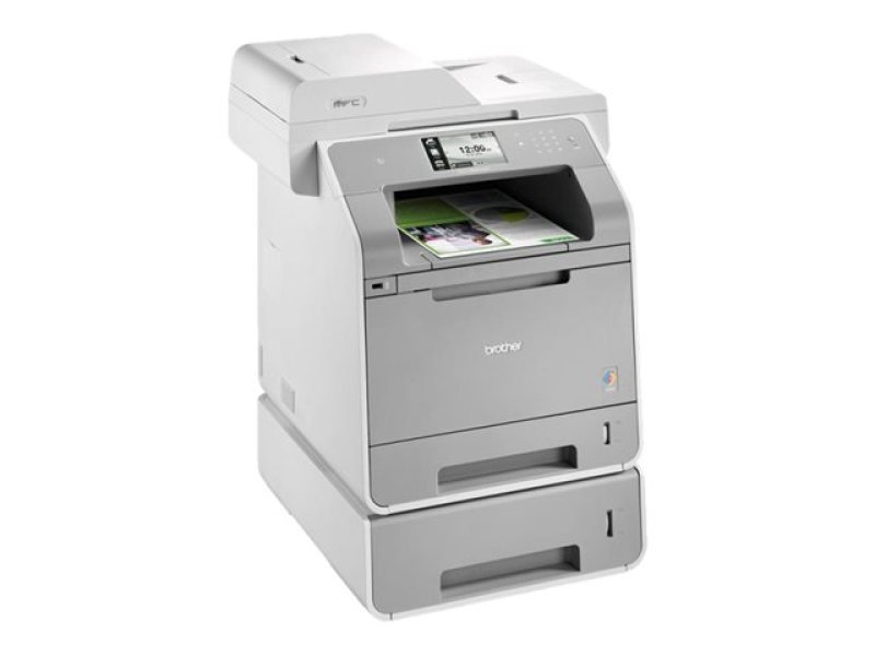 Brother MFC-L9550CDWT A4 Color Laser MultiFunction Printer -15/28ppm