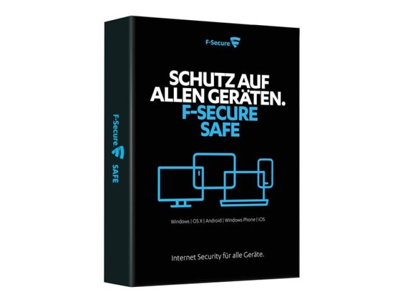 F-secure Safe (1 Year, 5 Device) - Electronic Download