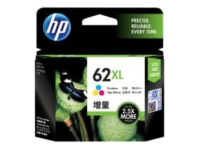*HP Ink/62XL Tri-color Cartridge