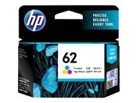 HP Ink/62 Tri-color Cartridge