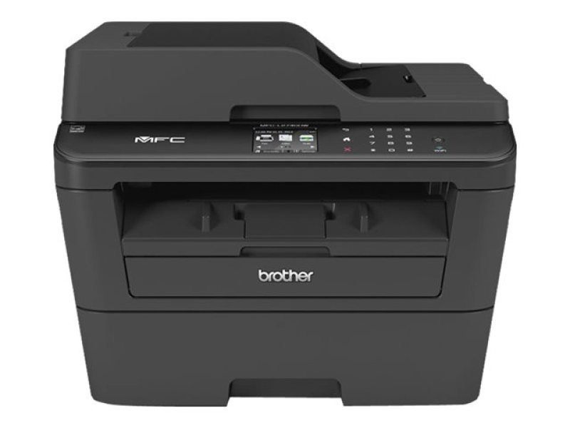 Brother MFC-L2740dw Wireless Multi-Function Duplex Mono Laser Printer - 30ppm