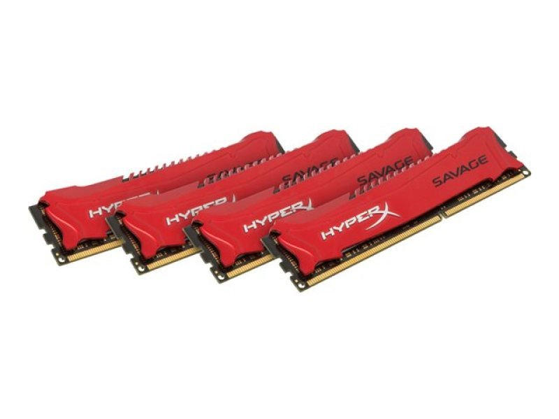 HyperX Savage 32GB 1866MHz DDR3 Non-ECC CL9 DIMM (Kit of 4) XMP Memory