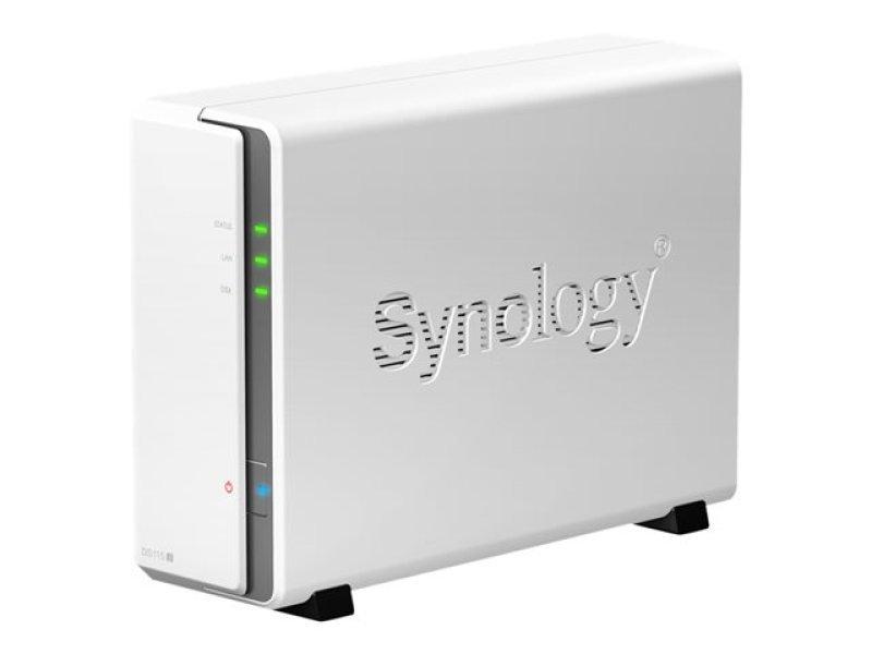 Synology DiskStation DS115j 1-bay (no disk) NAS Enclosure