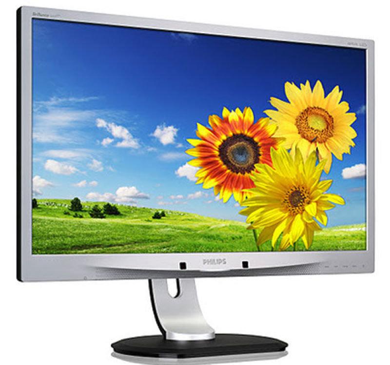 Philips Brilliance Pline 241P4QPYKES LED LCD 24&quot DVID Monitor