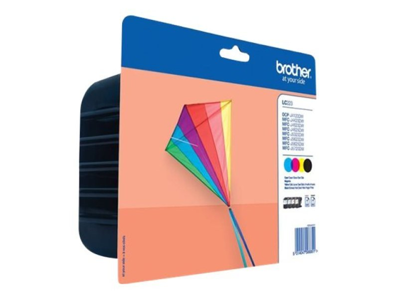 Brother LC223 Colour Ink Cartridge Value Pack