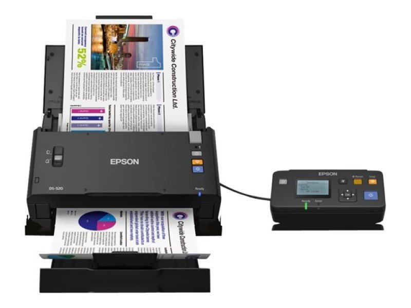 Epson WorkForce DS-520N A4 networked scanner