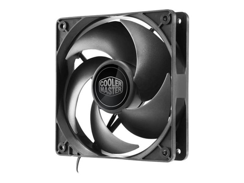Cooler Master Silencio FP120 PWM Edition - 120MM, 800-1400RPM, Loop DYNAMIC BEARING, 6.5-11 DBA Fan