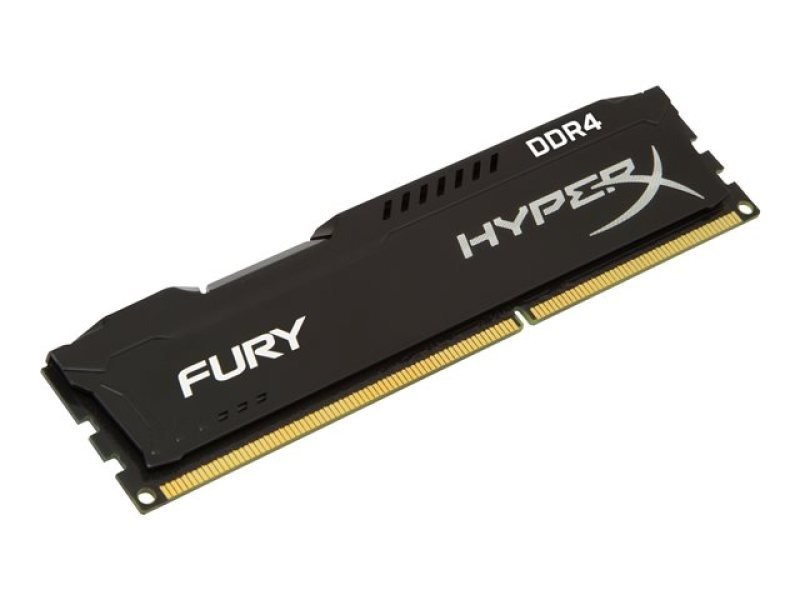 HyperX Fury Black 8GB (4GB x2) DDR4 2133MHz CL 14 Memory
