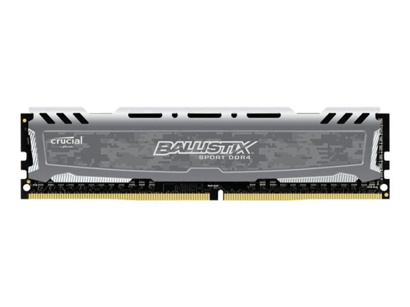 Crucial Ballistix 8GB DDR4 2400 MT/s (PC4-19200) CL16 DR x8 Unbuffered DIMM 288pin Memory
