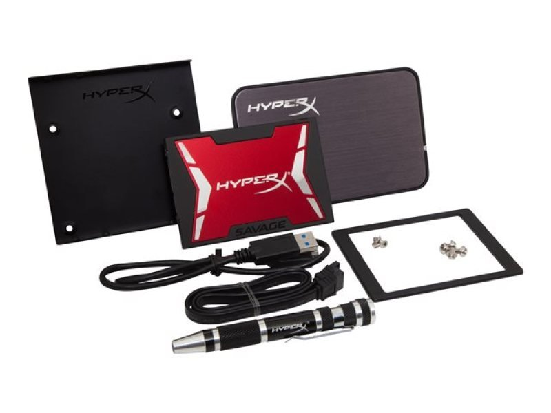 HyperX Savage 240GB 2.5inch SSD Bundle Upgrade Kit