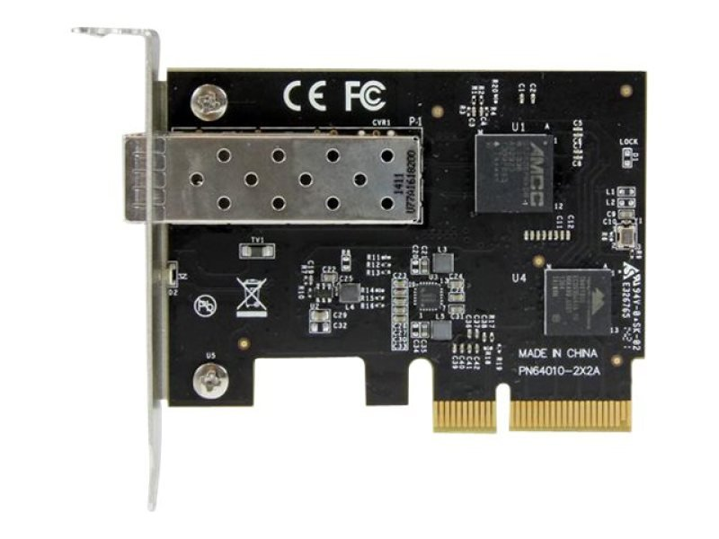 Pci Express 10 Gigabit Ethernet Fiber Network Card W/ Open Sfp+ - Pcie X4 10gb Nic Sfp+ Adapter