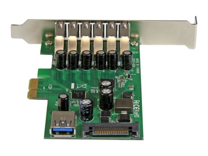 7-port Pci Express Usb 3.0 Card - Standard And Low-profile Design