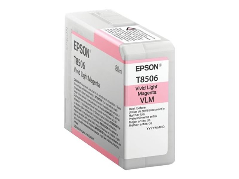 Epson T8506 High Yield Light Magenta Ink Cartridge