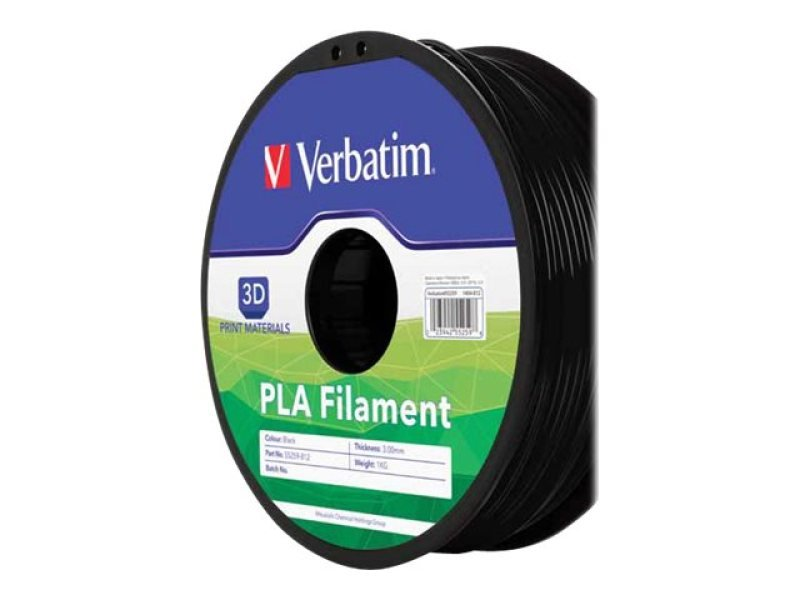 Verbatim (1.75mm) 1kg PLA 3D Printer Filament Spool (White)