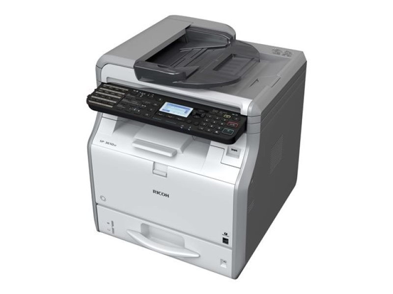 Ricoh SP3600SF A4 Mono Multifunction Laser Printer