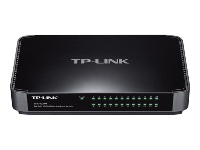 TP-Link 24-Port 10/100Mbps Desktop Switch